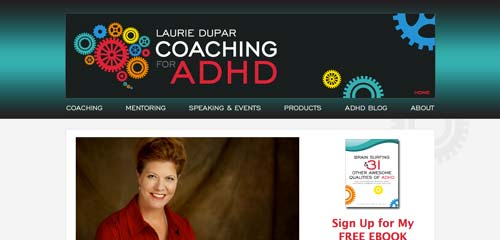 Coaching for ADHD