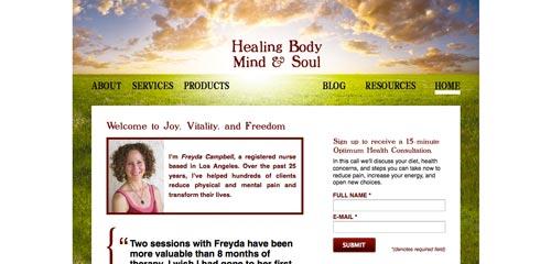 Healing Body Mind & Soul