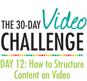 How to Structure Content on Video