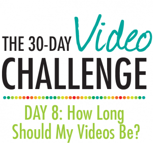 30 Day Video Challenge - Day 8 Title Card