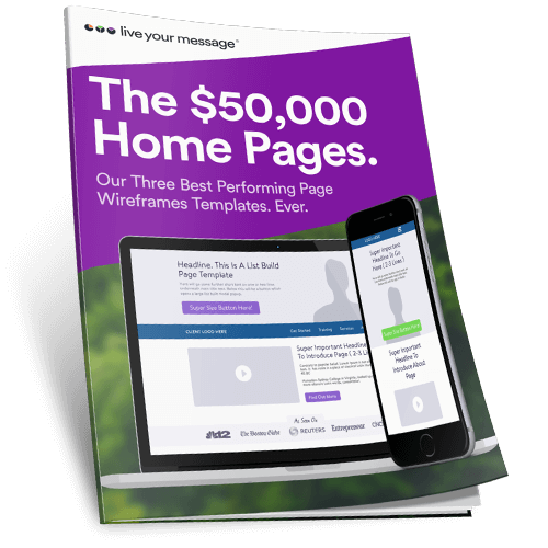 The $50,000 Home Pages