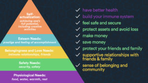 maslow's hierarchy and universal human needs