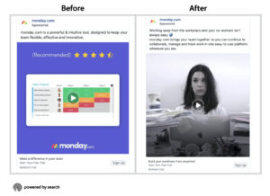 monday.com ads during covid-19
