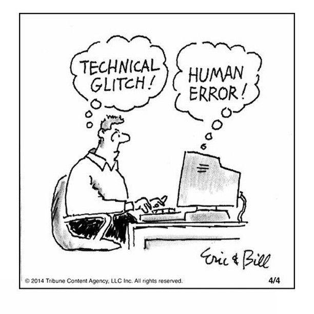 technical glitch or human error